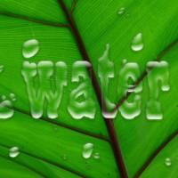 Water toevoegen aan afbeelding
